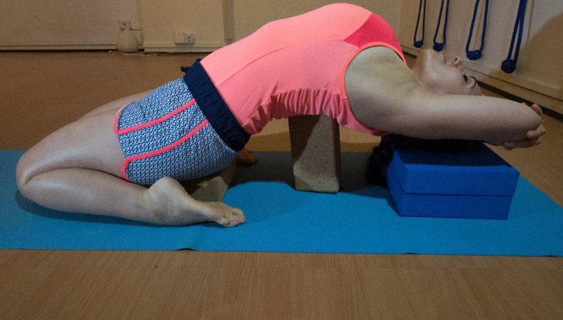 posizione di iyengar yoga